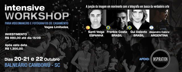 Alejandro Calore REAL&SHORT Intensive Workshop Camboriu