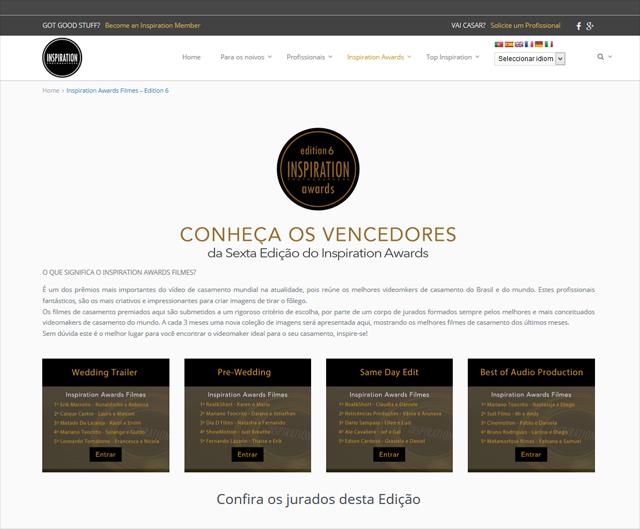 Alejandro Calore REAL&SHORT Winner INSPIRATION AWARDS Sexta Edicion